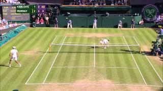2015 Day 7 Highlights, Ivo Karlovic vs Andy Murray