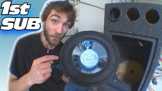 CHEAP Subwoofer Find w/ EXO's 1st Car Audio Sub...12 inch Jensen XS1212 Subwoofers & Q-Logic Box