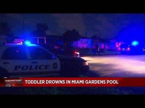 Toddler drowns at Miami Gardens home