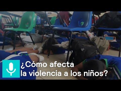 ¿Cómo afecta la violencia a niños y adolescentes en México? - Al aire con Paola