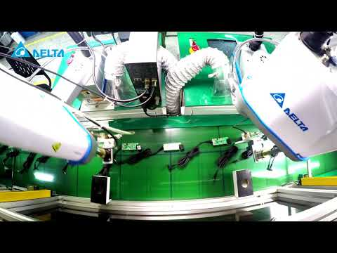 Delta Industrial Robot-Application for Soldering
