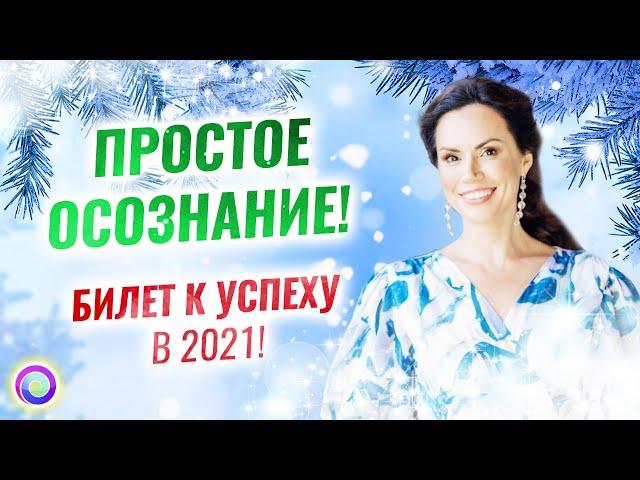 Простое осознание! Билет к успеху 2021! - Екатерина Самойлова