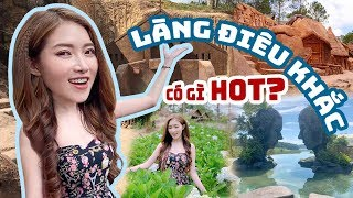 Quỳnh Núi Ghé Thăm Làng Điêu Khắc Bí Ẩn Tại Đà Lạt | Meena Channel