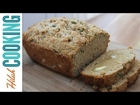 How to Make Beer Bread with Jalapeños|  Hilah Cooking