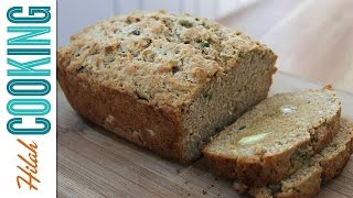 Jalapeño Beer Bread |  Hilah Cooking