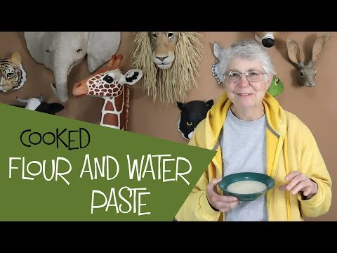 Cooked Flour And Water Paste - And When To Use It