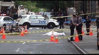 Man Wielding Knife Shot Dead by Police in Manhattan