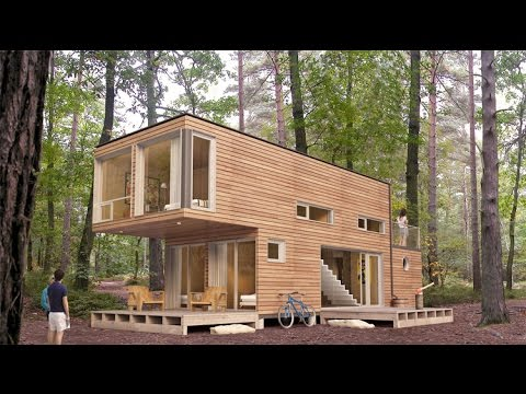 casas hechas en containers youtube. Black Bedroom Furniture Sets. Home Design Ideas