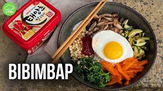 BIBIMBAP Rezept | Koreanisches Essen für zuhause!