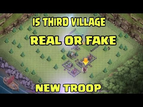 NEW THIRD VILLAGE | REAL OR FAKE | NEW TROOP IS COMING THIS SEPTEMBER?? |