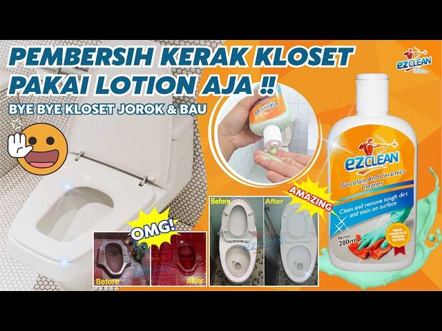 WOW !!! Pembersih Kloset Paling Ampuh & Ramah Lingkungan - EZCLEAN PORCELAIN CLEANER