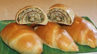 Omelet Bread Rolls (simple Baking)