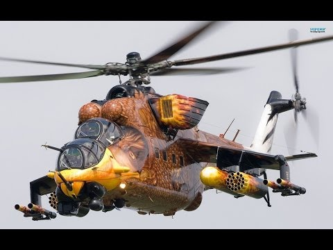 Russian Hind Gunship - Fastest Most Heavily Armed Military Helicopter