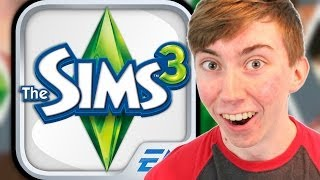 THE SIMS 3 - Part 1 (iPhone Gameplay Video)