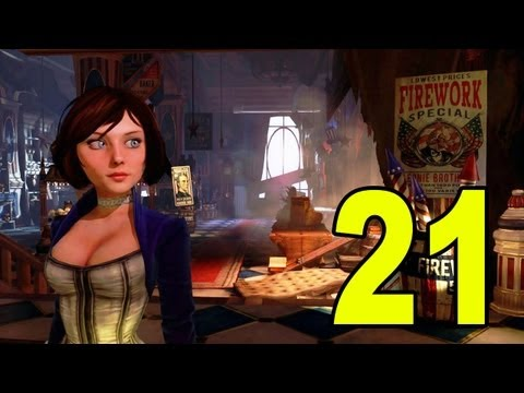 Bioshock Infinite - Part 21 - Fireman HALP (Letu0027s Play / Playthrough / Walkthrough)
