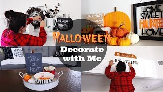Halloween Decorate with Me! || Spooktacular Collab 2018