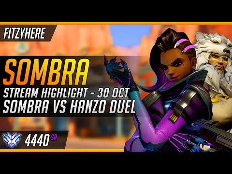 [GM: 4285] - Sombra on Route 66 - Longest Sombra vs Hanzo Duel
