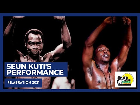Download Seun Kuti's Electrifying Performance At Felabration 2021