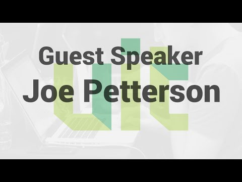 UIT Startup Immersion - Guest Speaker - Joe Pettersson