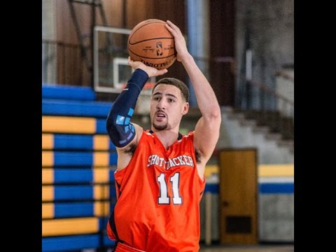 KLAY THOMPSON SHOOTING FORM DRILL WORKOUT | NBA 2015-2016 - YouTube