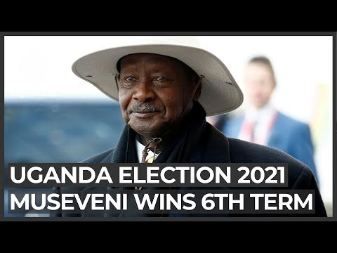 Museveni, one-time critic of clinging to power, wins sixth term