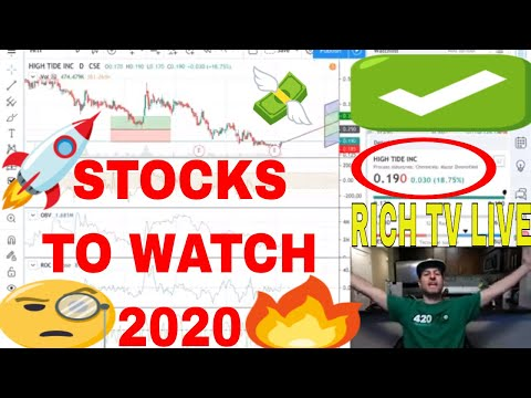 Stock To Watch 2020 - RICH TV LIVE - High Tide Inc.