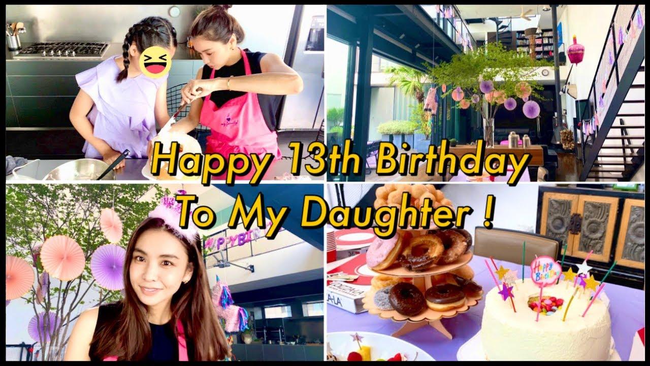【娘の誕生日】部屋の飾りつけ&ケーキ作りを娘とやっていきます♪