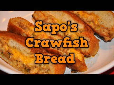 Sapo's Crawfish Bread