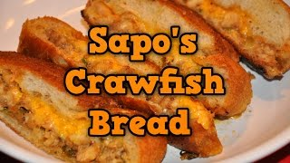 Sapo's Crawfish Bread