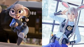 Zootopia Characters in Real Life Human Version