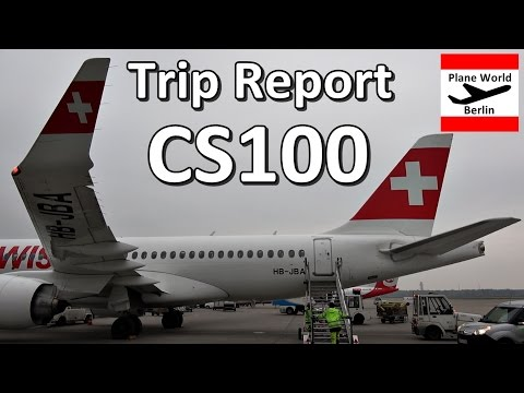 Trip Report | SWISS CSeries 100 | Business Class | ZRH - TXL