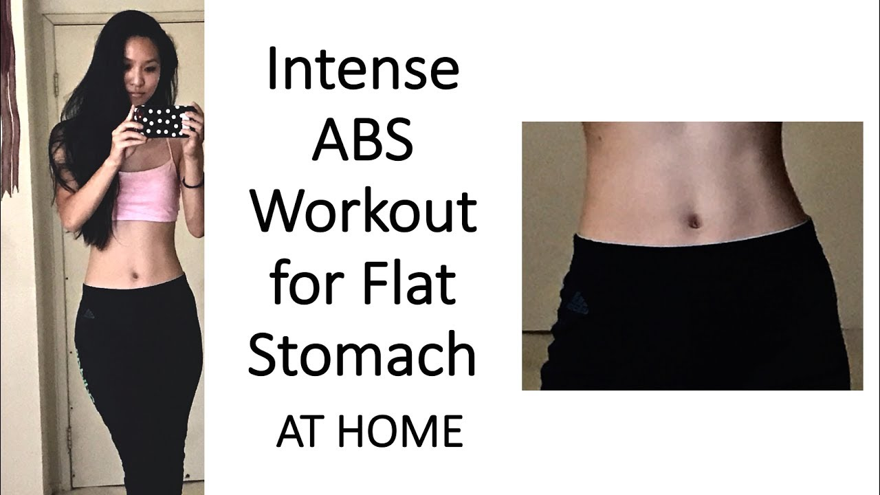 TOP 5 Ab Exercises for Flat Stomach and Slim Waist