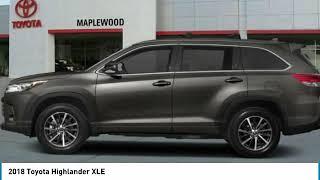 2018 Toyota Highlander XLE Maplewood, St Paul, Minneapolis, Brooklyn Park, MN J14510