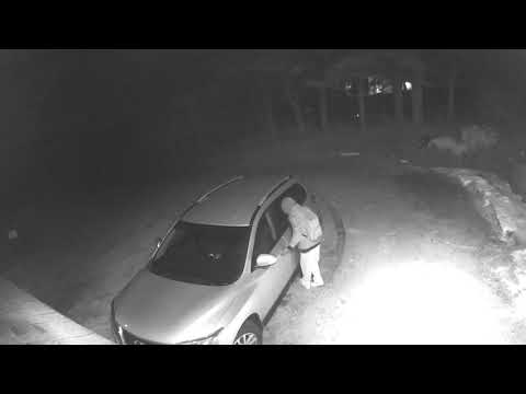 Connecticut State Police released surveillance video of this attempted break-in in Durham.