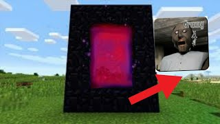 How To Make A Minecraft Portal To Granny