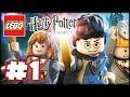 LEGO Harry Potter: Years 1-4 - Part 1 HD Walkthrough - The Magic Begins