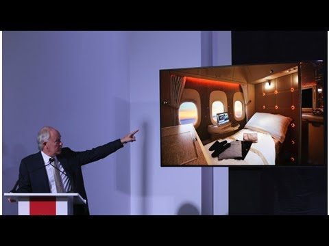 Dubai air show: emirates zeigt neue first-class-suiten