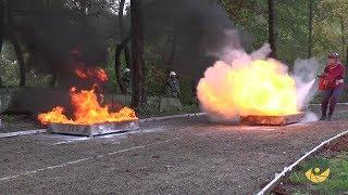 Змагання пожежно рятувальних підрозділів ЗСУ на Івано Франківщині