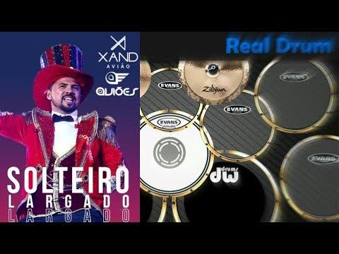 Real Drum 🎶Solteiro largado - Xandy Avião🎶 Nilkson Drummer