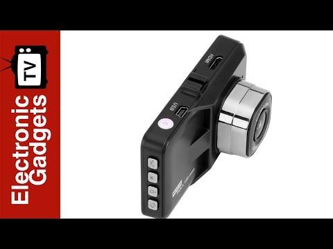Budget 3 Inch 1080p Car DVR Camera With 120-Degree, G-Sensor And Motion Detection