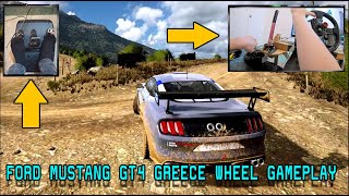 Why Is This Car In The Game?! (Ford Mustang GT4) | Greece Wheel Gameplay | Dirt Rally 2.0 VR