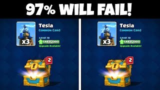 ONLY a GENIUS CAN SPOT THE DIFFERENCE! (IMPOSSIBLE) | Clash Royale