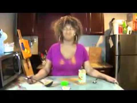 Cinnamon challenge by Glozell