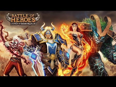 Battle of Heroes Android GamePlay Trailer (1080p)