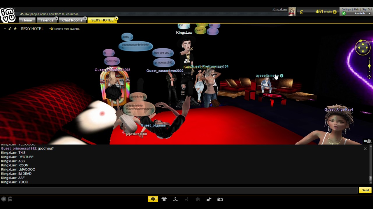 Noobs And Dikes Having Sex W Bad Roleplay On Imvu Lmao