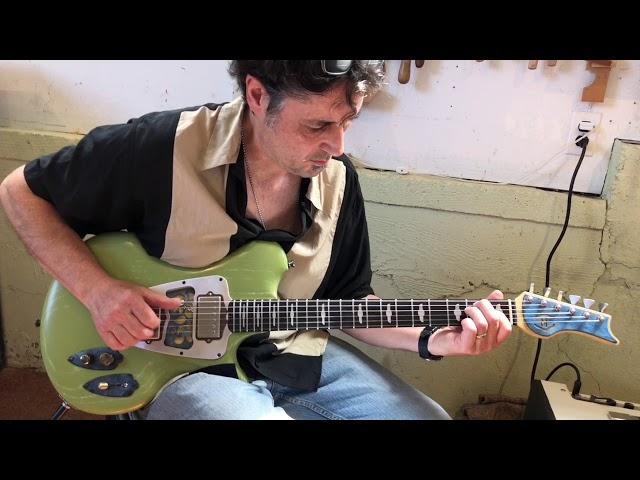 M-tone Guitars - Flight Risk 9 - blues demo