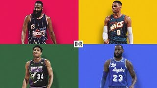Re-Imagining EVERY NBA Jersey As a Throwback