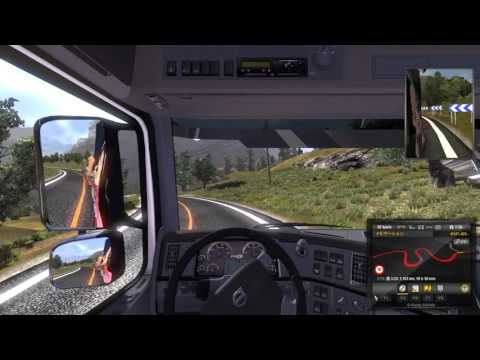 ETS2 VOLVO Deliv from Toulouse to Rabat with Sheryl nome