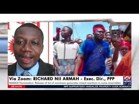MMDCE Nominations: Release of list of nominees generates mixed reactions in some assemblies(20-9-21)