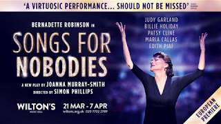 'I loved every minute of it' - Songs for Nobodies